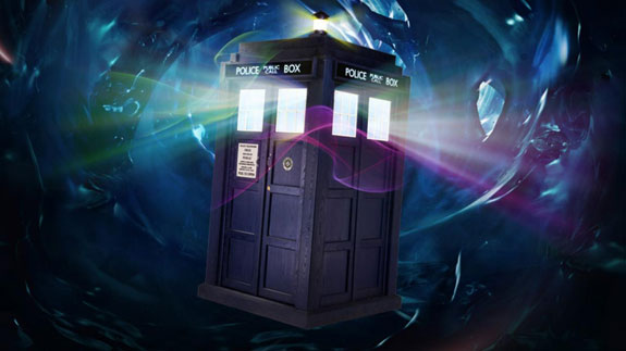 When someone remarks to you that the TARDIS is bigger on the inside, you reply...