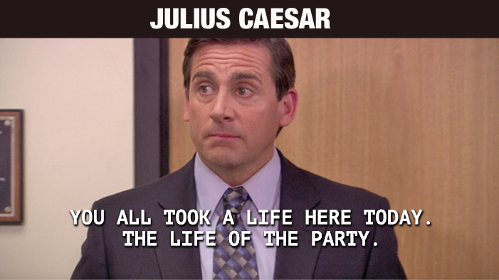 Every Shakespeare Play Summed Up in a Quote from The Office