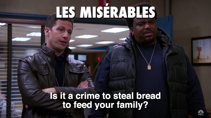Classic Novels As Explained in <i>Brooklyn Nine-Nine</i> Quotes