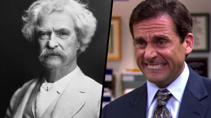 QUIZ: Is This a Mark Twain Quote or a Line from <I>The Office</I>?