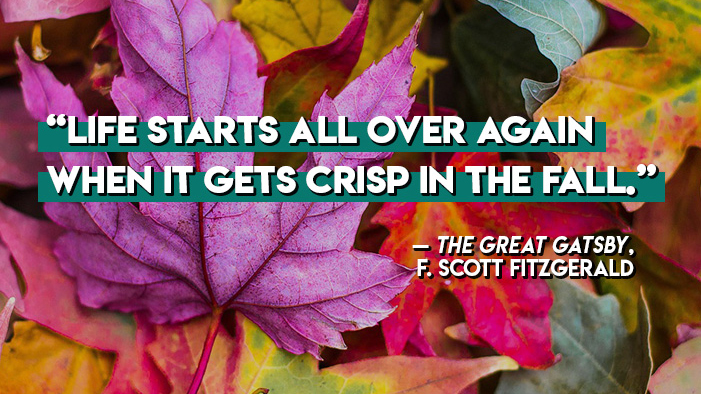 18 Literary Quotes That Will Get You Excited About Autumn